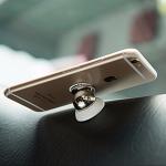 Lehká selfie tyč s tlačítkem, praktický držák na mobilní telefon do auta nebo bezdrátová nabíječka