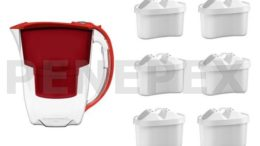 Aquaphor Amethyst červená 6 ks filtru Aquaphor Maxfor B100 25